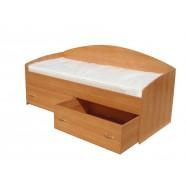 Детская кровать с ящиками (ММ)