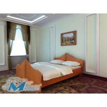 Кровать ЛДСП с матрацем (ММ)