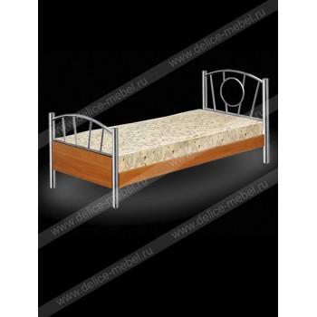 Кровать односпальная с матрацем (Д)