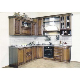 Кухня Массив-6