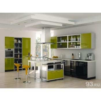 Кухня пластик-11